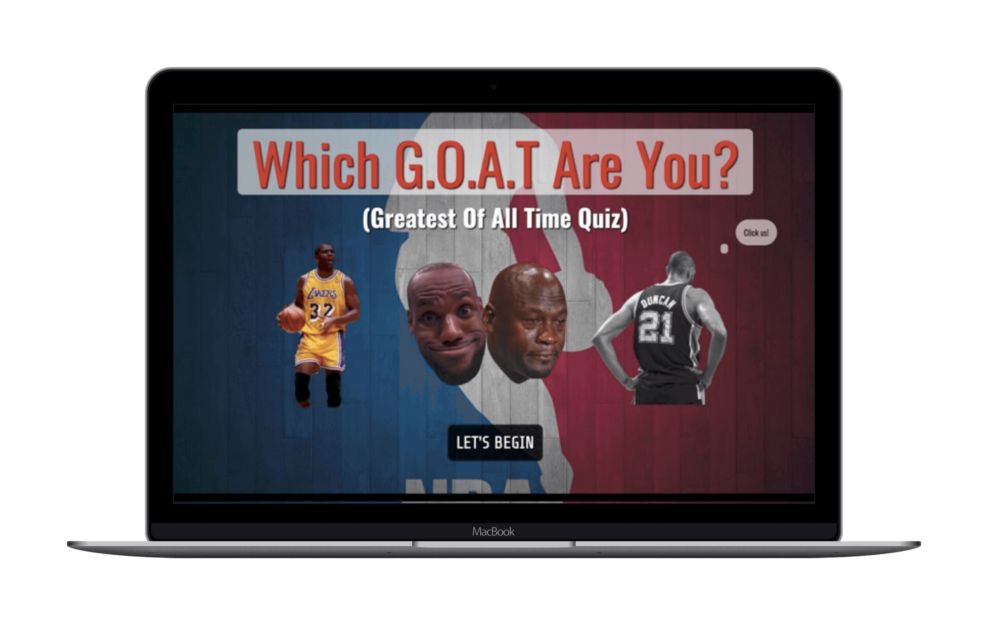 Find out which NBA legend your personality